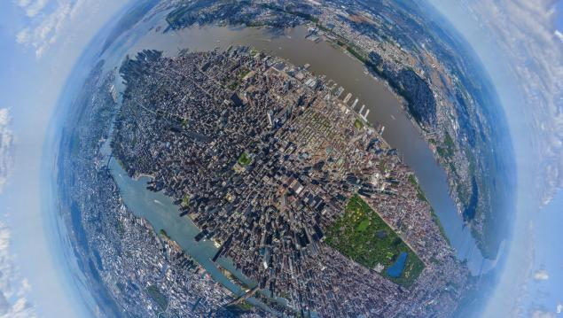 nyc by bird eyes